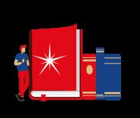 Книга стихов в интегральном(голландском) переплете