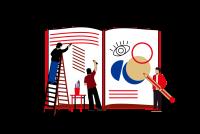 Проиллюстрируем авторскую книгу