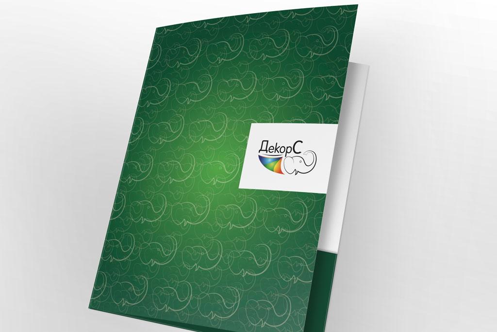 Дизайн папки ДекорС
