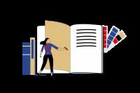 Дизайнерская бумага для элитной книги