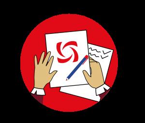 Логотип, разработанный на основе анализа компании