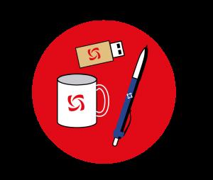 Визуализацию примеров использования логотипа